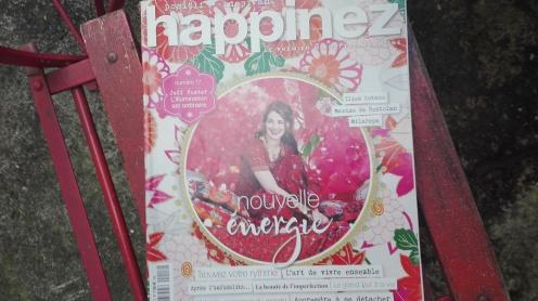 magazine Happinez,blog Y.B Paris